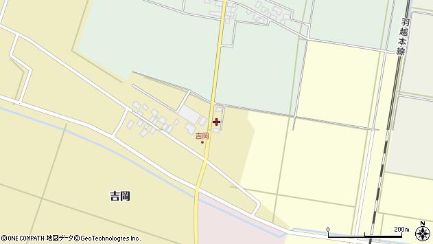 山形県東田川郡庄内町吉岡東北裏7周辺の地図
