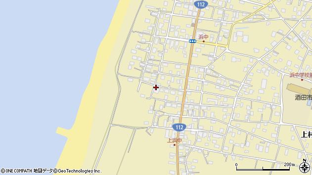 山形県酒田市浜中上村151周辺の地図