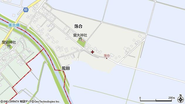 山形県東田川郡庄内町落合落合68周辺の地図