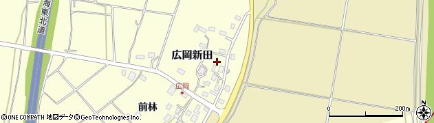 山形県酒田市広岡新田457周辺の地図