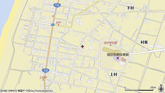 山形県酒田市浜中下村236周辺の地図