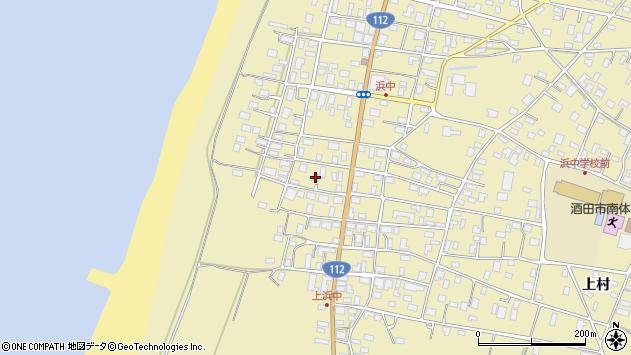 山形県酒田市浜中上村283周辺の地図