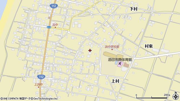 山形県酒田市浜中379周辺の地図