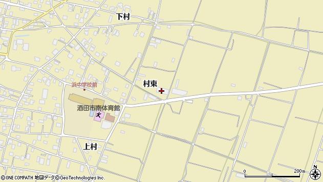 山形県酒田市浜中村東1348周辺の地図