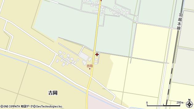 山形県東田川郡庄内町吉岡東北裏8周辺の地図