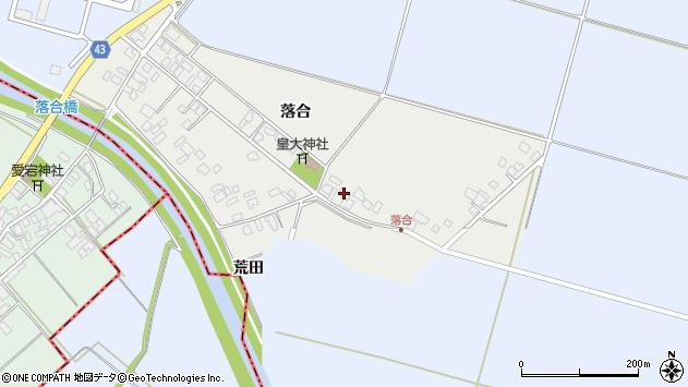 山形県東田川郡庄内町落合落合69周辺の地図