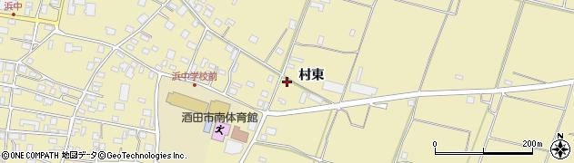山形県酒田市浜中村東1351周辺の地図