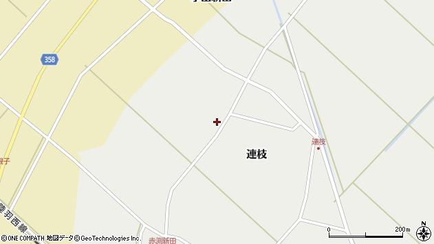 山形県東田川郡庄内町連枝沼端126周辺の地図