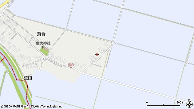 山形県東田川郡庄内町落合落合20周辺の地図