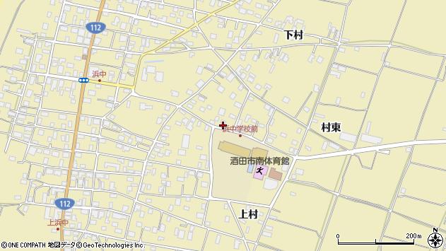 山形県酒田市浜中下村362周辺の地図