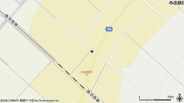 山形県東田川郡庄内町小出新田大谷地52周辺の地図