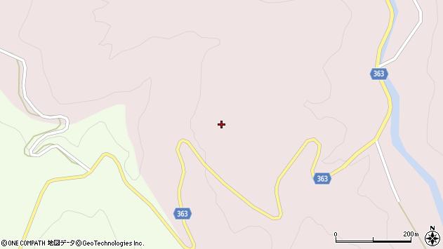 山形県酒田市小林久左エ門沢周辺の地図