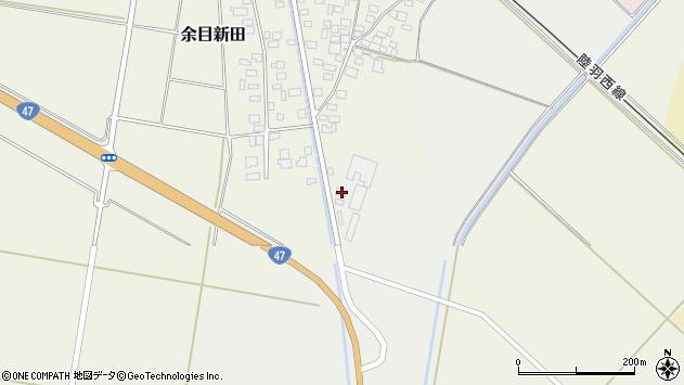 山形県東田川郡庄内町余目新田東町63周辺の地図