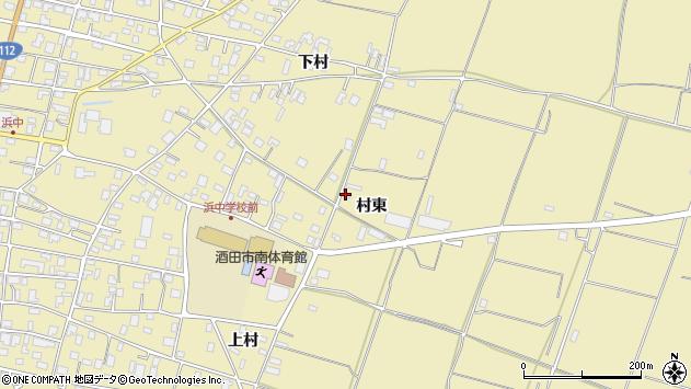 山形県酒田市浜中村東1355周辺の地図