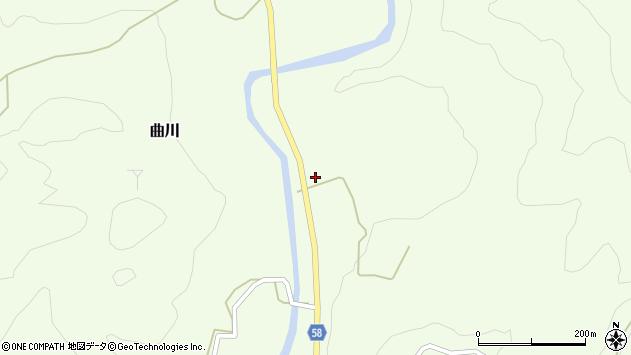 山形県最上郡鮭川村曲川253周辺の地図