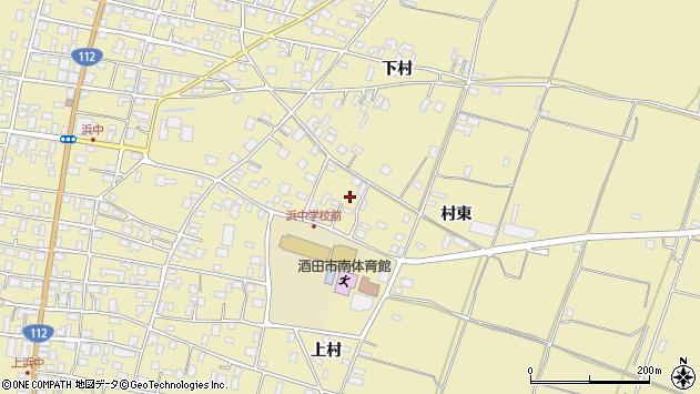 山形県酒田市浜中下村570周辺の地図
