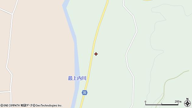 山形県最上郡鮭川村京塚592周辺の地図