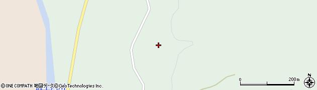 山形県最上郡鮭川村京塚小反周辺の地図