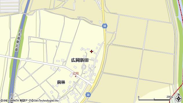 山形県酒田市広岡新田前林450周辺の地図