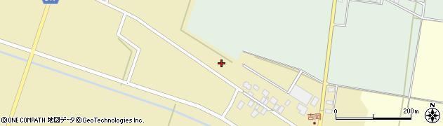 山形県東田川郡庄内町吉岡西北裏2周辺の地図
