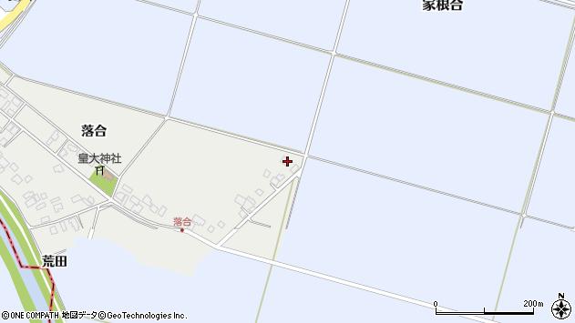 山形県東田川郡庄内町落合落合30周辺の地図