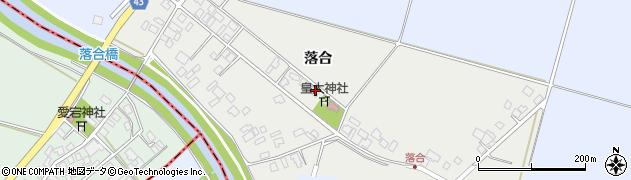 山形県東田川郡庄内町落合落合52周辺の地図