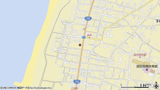 山形県酒田市浜中上村321周辺の地図