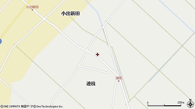 山形県東田川郡庄内町連枝沼端95周辺の地図