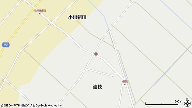 山形県東田川郡庄内町連枝沼端108周辺の地図