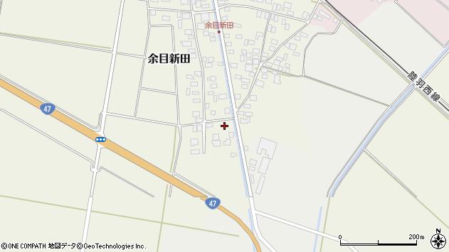 山形県東田川郡庄内町余目新田西町4周辺の地図