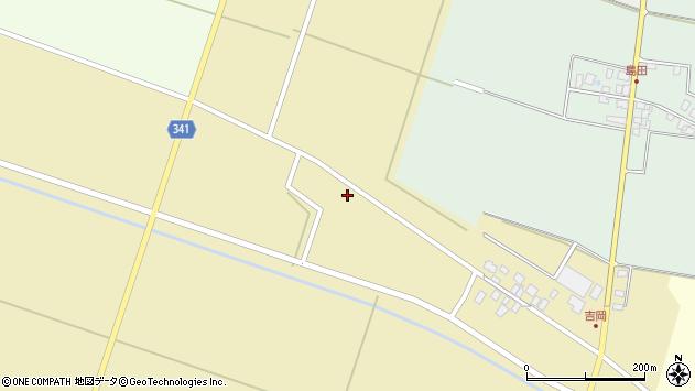 山形県東田川郡庄内町吉岡下南38周辺の地図