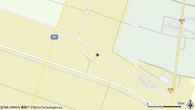 山形県東田川郡庄内町吉岡下南39周辺の地図