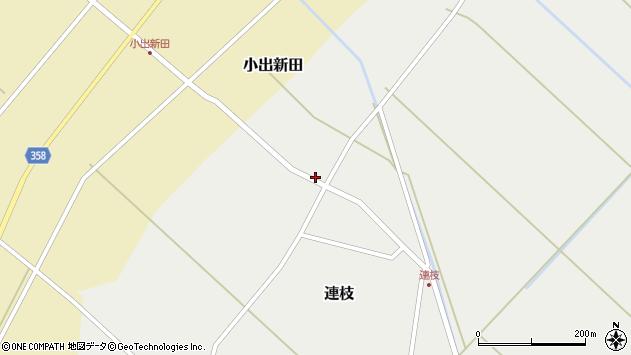 山形県東田川郡庄内町連枝沼端156周辺の地図