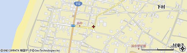 山形県酒田市浜中下村298周辺の地図