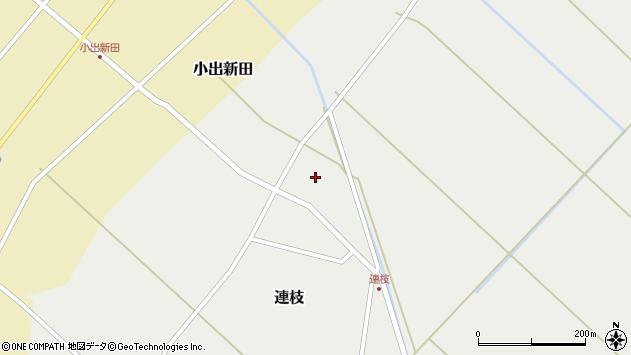 山形県東田川郡庄内町連枝沼端102周辺の地図