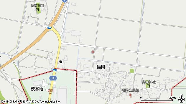 山形県酒田市広野福岡470周辺の地図