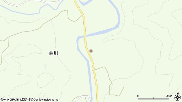 山形県最上郡鮭川村曲川263周辺の地図