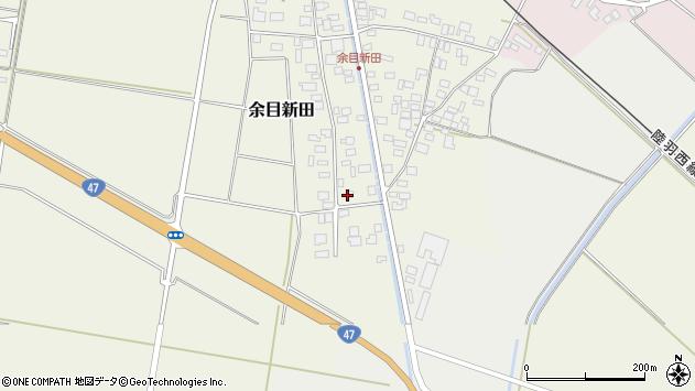 山形県東田川郡庄内町余目新田西町6周辺の地図