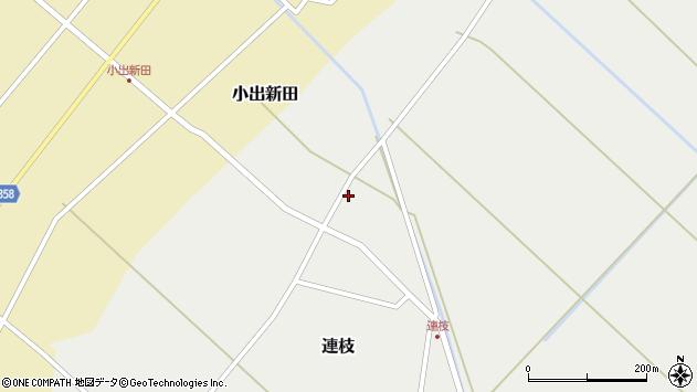 山形県東田川郡庄内町連枝沼端104周辺の地図