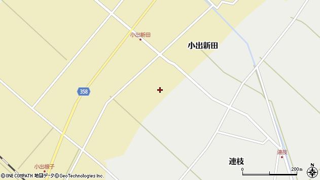 山形県東田川郡庄内町小出新田一番割周辺の地図