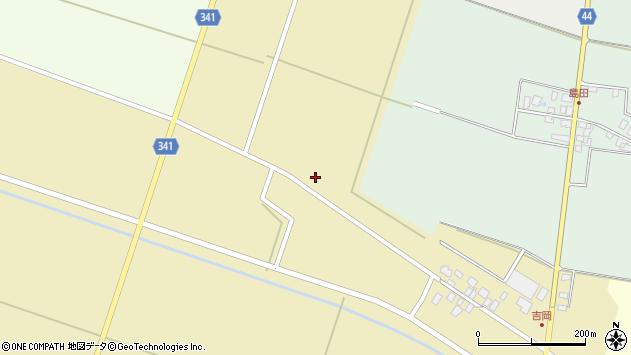 山形県東田川郡庄内町吉岡西北裏22周辺の地図
