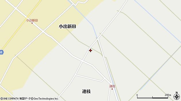山形県東田川郡庄内町連枝沼端103周辺の地図