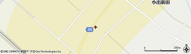 山形県東田川郡庄内町小出新田苧畑割5周辺の地図