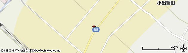 山形県東田川郡庄内町小出新田苧畑割48周辺の地図