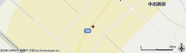 山形県東田川郡庄内町小出新田苧畑割6周辺の地図