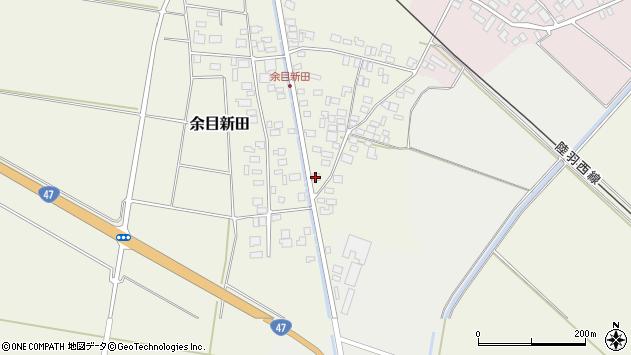 山形県東田川郡庄内町余目新田東町9周辺の地図