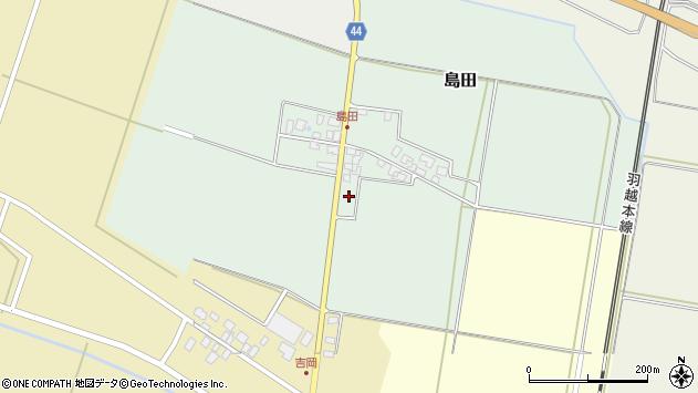 山形県東田川郡庄内町島田孫六27周辺の地図