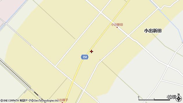山形県東田川郡庄内町小出新田苧畑割7周辺の地図