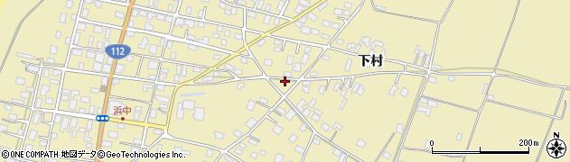 山形県酒田市浜中下村568周辺の地図