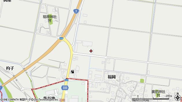 山形県酒田市広野上割171周辺の地図